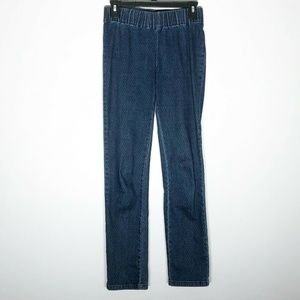 Soft Surroundings Jeans Womens XS Pull On Elastic